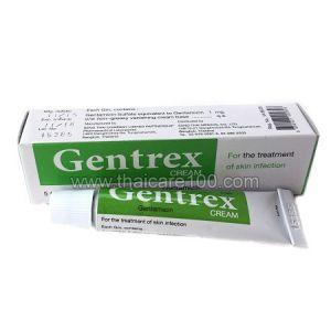 Gentrex Cream с антибиотиком для лечения гнойных ран, порезов,ожогов и высыпаний на коже(9 гр)