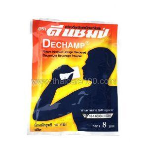 Порошок при нарушениях водно-солевого баланса в организме Dechamp Electrolyte Beverage Powder