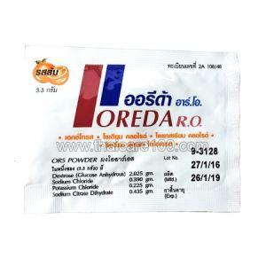Порошок от обезвоживания для детей и взрослых Oreda R.O.