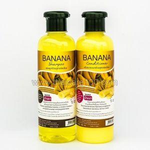 Банановый набор шампунь+кондиционер Banna Banana для сухих волос