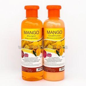 Набор шампунь+кондиционер Banna с натуральным маслом Манго