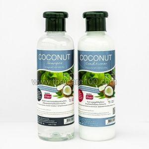 Кокосовый набор шампунь+кондиционер Banna Coconut Oil Shampoo and Conditioner