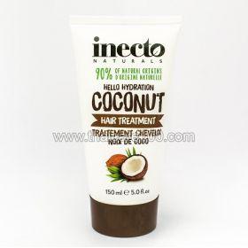 Восстанавливающая маска для волос от Inecto «Pure Coconut» на основе 100% кокосового масла