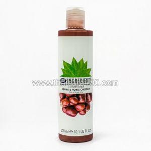 Кондиционер хна и каштан Henna and chestnut  для красных и коричневых волос от Boots Ingredients