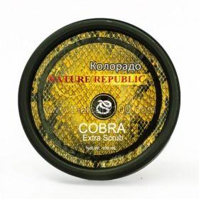 Змеиный скраб для лица Nature Republic Cobra Extra Scrub