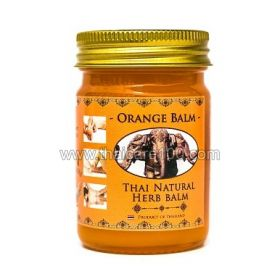 Оранжевый бальзам со слоном Thai Kinaree Orange Balm
