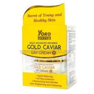 Дневной крем с экстрактом красной икры Yoko Gold Caviar Day Cream