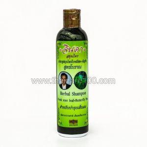 Травяной лечебный шампунь  Джинда от выпадения волос  Jinda Herbal Shampoo