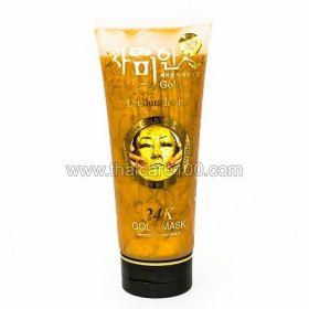 Антивозрастная маска для лица 24K Gold Mask с глутамином