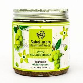 Восстанавливающая маска-бальзам Sabai Arom Shining Kaffir Lime Hair Mask