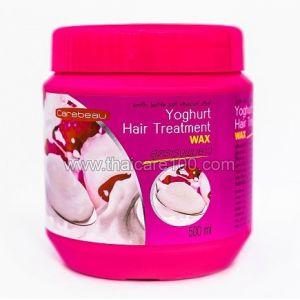 Йогуртовая маска для волос Carebeau Yoghurt Hair Treatment