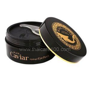 Гидрогелевые патчи под глаза с черной икрой Esfolio Black Caviar Hydrogel Eye Patch
