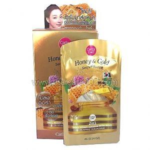 Ночная маска-сыворотка с медом и улиткой Gold Sleeping Serum Mask