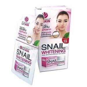 Отбеливающий улиточный крем Le Skin Snail Whitening