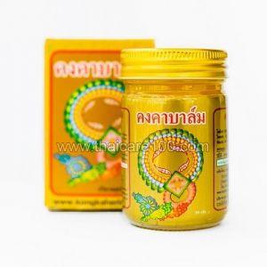 Золотой обезболивающий бальзам Kongka Balm с имбирем