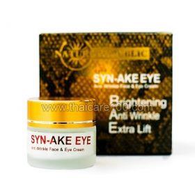Антивозрастной  крем  для кожи вокруг глаз с пептидами змеиного яда Syn-Ake Eye Cream
