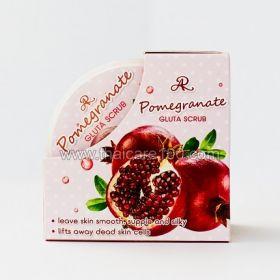 Скраб для лица с гранатом Pomergranate Gluta Scrub
