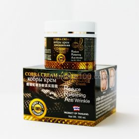 Антивозрастной змеиный крем для лица Cobra Syn-Ake Cream Nature Republic
