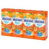 Питьевой йогурт с фруктовым соком Dutch Mill 4in1