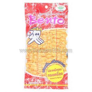 Сушеный остро-сладкий кальмар Bento Sweet & Spicy Squid Seafood Snack