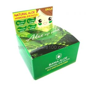 Гидрогелевые патчи с алое Bania Natural Aloe Hydrogel Eye Patch