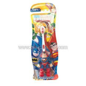 Детская зубная щетка Супер-герои Супермен Denticon