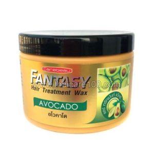 Маска с авокадо для сухих волос Fantasy Hair Treatment Wax