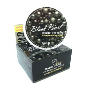Гидрогелевые патчи с черным жемчугом Bania Natural Black Pearl Hydrogel Eye Patch