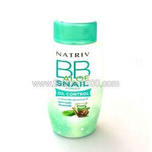 ВВ-пудра Natriv для жирной кожи с алое и улиточной слизью