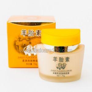 Овечий крем с матирующим эффектом Sheep Placenta Whitening Foundation Cream