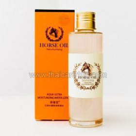 Ультра-увлажняющий лосьон Yanchuntang Horse oil aqua ultra moisturzing LOTION на основе конского жира