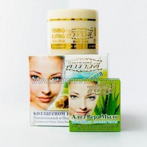 Улиточный подтягивающий гель Darawadee Collagen Snail Cream