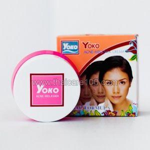 Крем от акне и кожных воспалений Yoko Acne-Melasma Cream