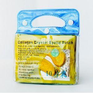 Корейские патчи для глаз с коллагеном и биозолотом Collagen Cristal Eyelid Patch (10 шт)