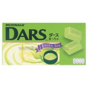 Молочный шоколад с зеленым чаем Morinaga Dars