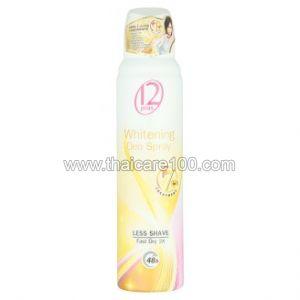 Отбеливающий дезодорант-спрей с биозолотом защита 48 часов 12 Plus 7in1 Gold