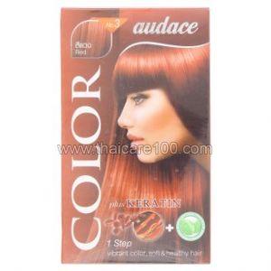 Стойкая крем-краска для волос с кератином Audace Color Plus Keratin No.3 цвет Махагон