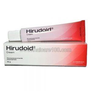 Лечебный Hirudoid Cream для лечения синяков, гематом, тромбофлебита (40 гр)