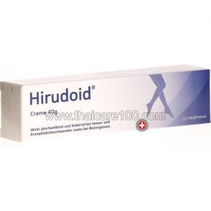 Лечебный крем для избавления от варикоза Hirudoid Forte Cream (40 гр)
