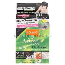 Оттеночный шампунь Lolane N1 (черный)