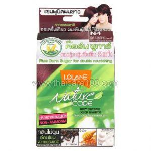 Оттеночный шампунь Lolane N4 (махагон)