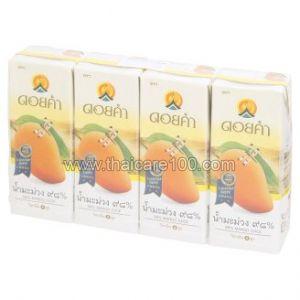 Натуральный сок спелого манго Doi Kham 98% Mango Juice(4 шт)