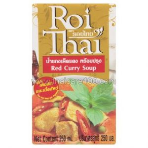Красный карри суп Roi Thai Red Curry Soup