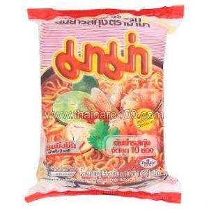 Лапша быстрого приготовления Том Ям с креветкой Mama Shrimp Tom Yum (10 шт)