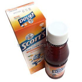 Детский витаминный комплекс с рыбьим жиром и кальцием ScottS Emulsion Cod Liver Oil