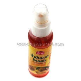 Обезболивающее массажное масло с имбирем Banna Plai Massage Oil Natural herbs