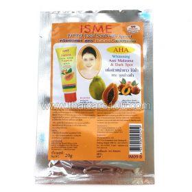 Cкраб для лица Papaya Facial Scrub с папайя и абрикосовой косточкой от Isme