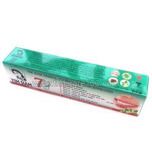 Оригинальная тайская паста концентрированная со стреблюсом Yim siam herbal 7 points