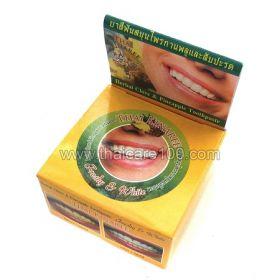 Отбеливающая паста с гвоздикой и ананасом Thai Kinaree Pineapple&Clove Herbal Toothpaste