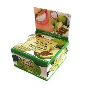 Отбеливающая паста  Guava Herbal toothpaste с экстрактом листьев Гуавы от  Rochjana